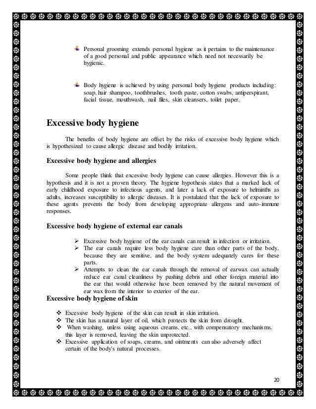 Health and Hygiene – Essay