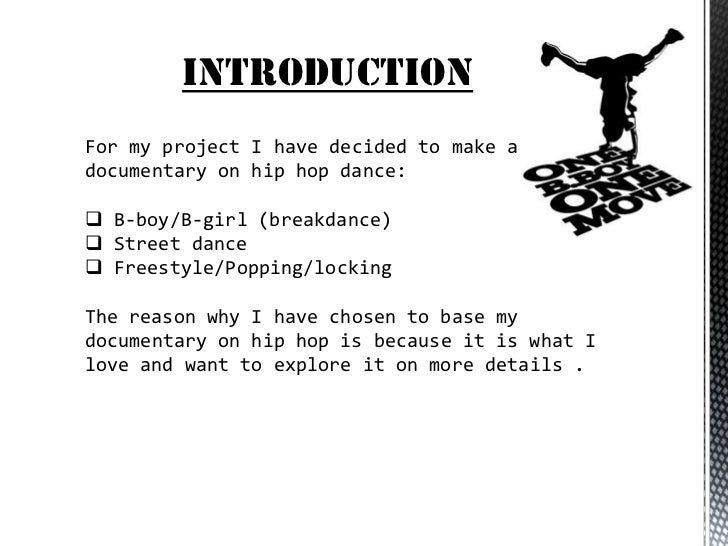 Hip Hop Research Paper