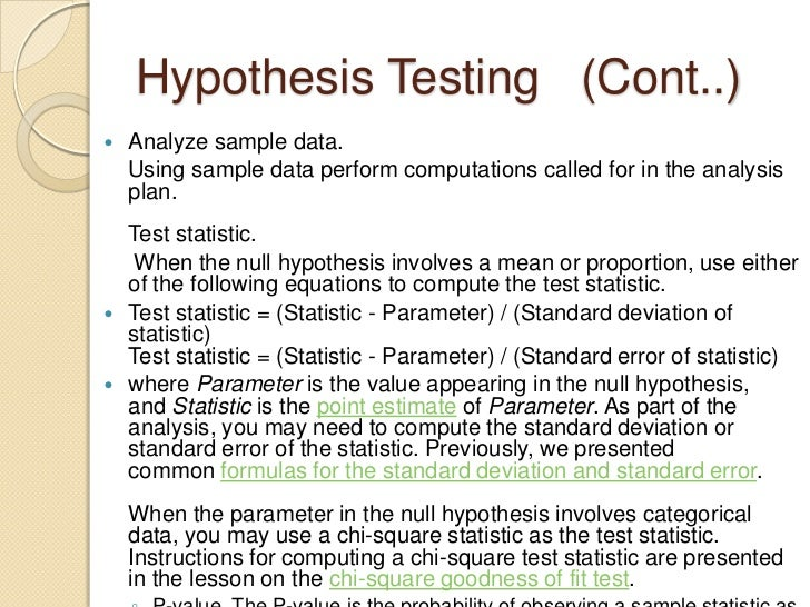 you are developing a hypothesis design