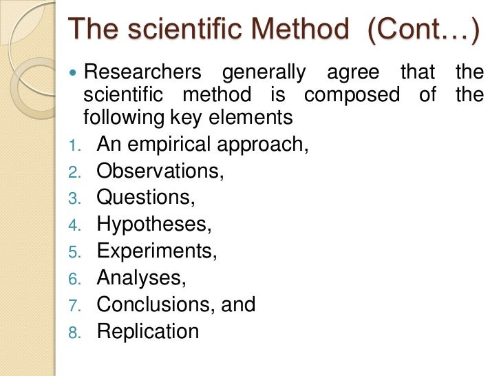 human services research example of the scientific method Bshs 435 week 1 scientific method and steps in how does it relate to human services research discuss how the scientific research method was applied in.
