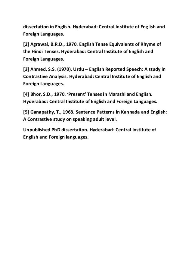 Dissertation on language teaching or learning