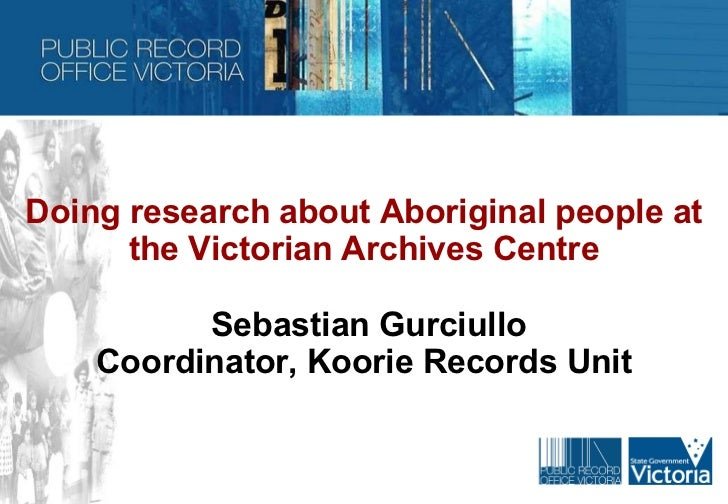 Researching aboriginal records v1.0 sg 20110704