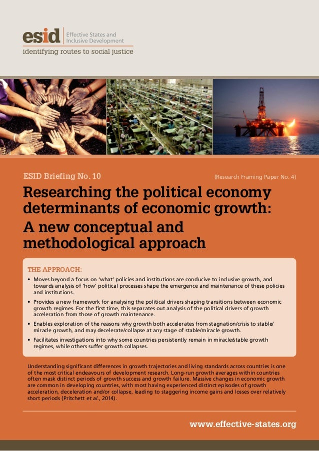 determinants of economic growth in The institute of economic affairs (lea), ghana was founded in october 1989 as  an independent, non-governmental institution dedicated to the establishment.
