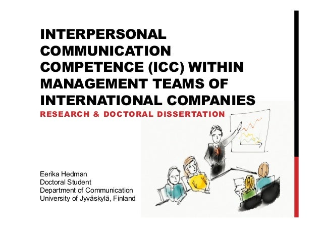 Research on Interpersonal Communication Competence within