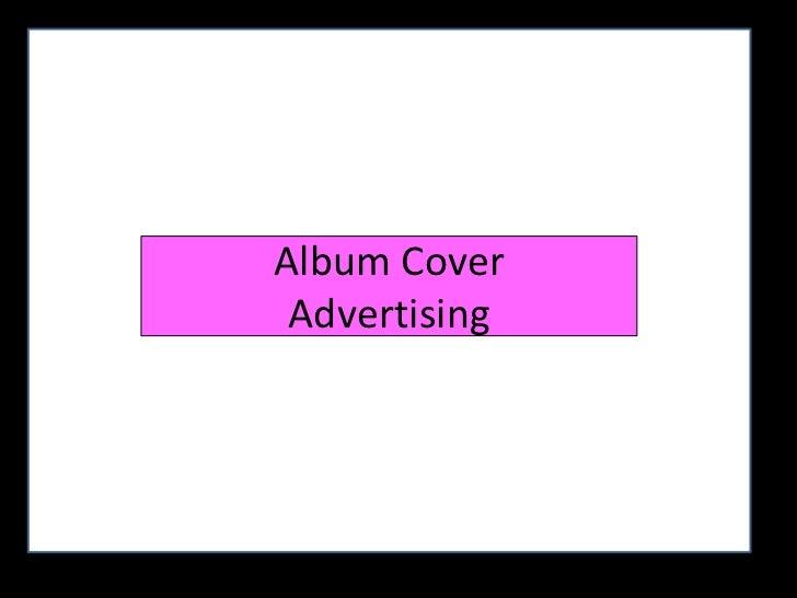 Album Cover Advertising