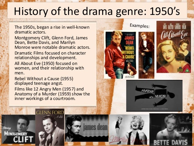 Research paper on a genre of drama?