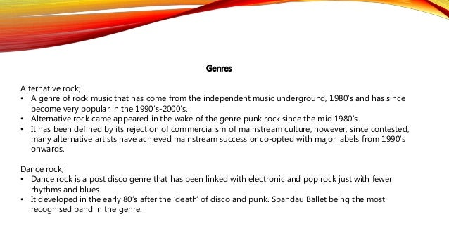 Need help with a research paper about the development of rock music in the 60s and 70s?