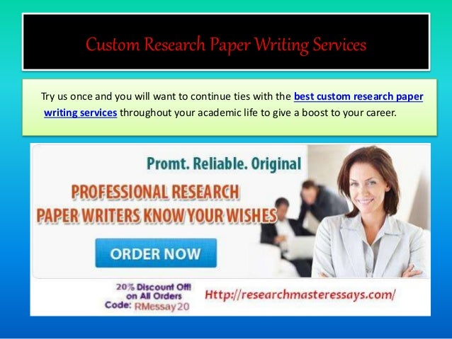Customer research paper