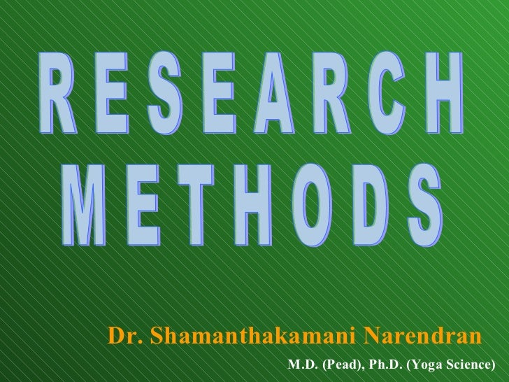 Social research methods literature review