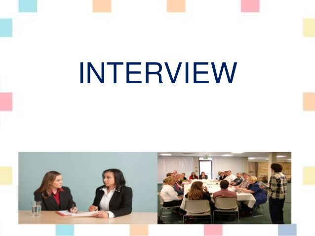 Research method - How to interview?