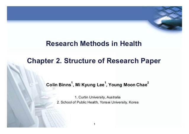 Research method ch02 structure of thesis