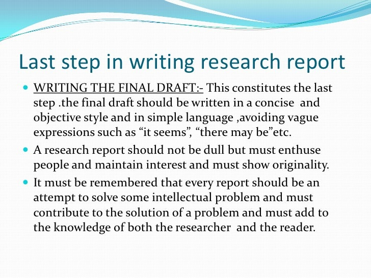 how to write a research report How to write a science fair project research paper includes key areas for research and sample papers.