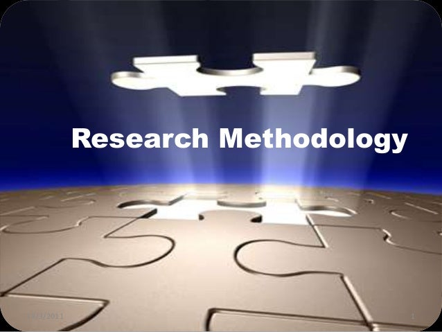 Phd Thesis Proposal Methodology