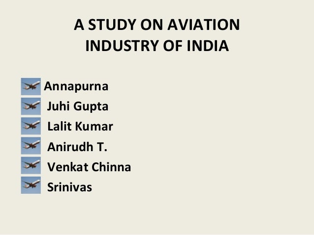 Aviation research topic proposal