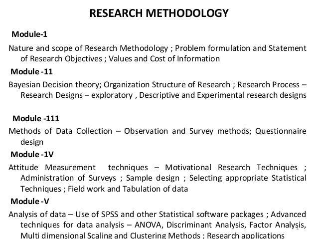 Research methodology essay
