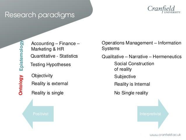 positivist research methodology