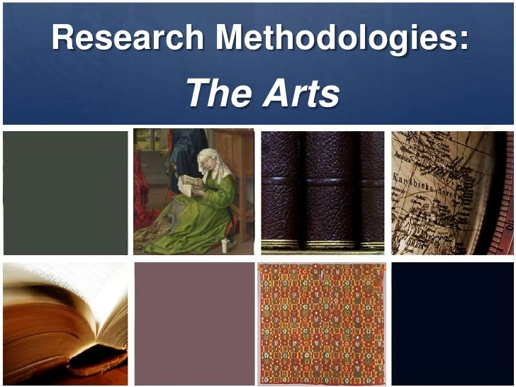 Research Methodology for the Arts