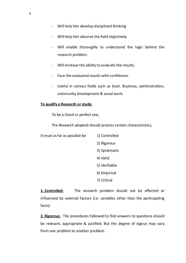 Research methodology examples pdf
