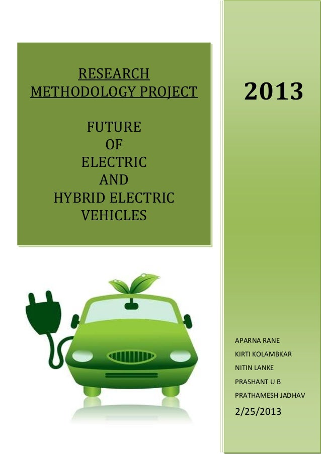 Project Report On Electric Vehicles