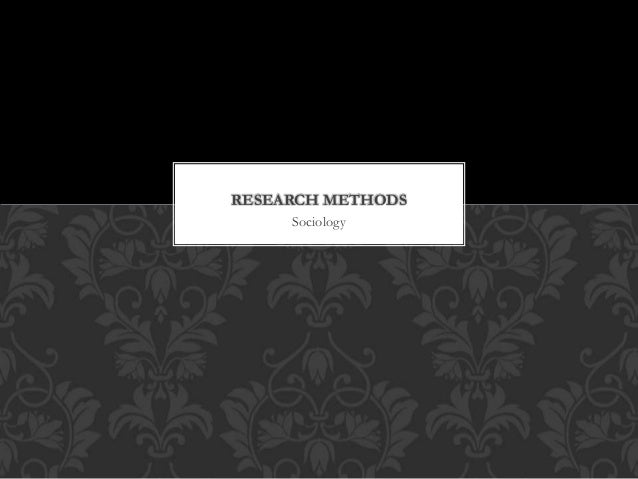 Essay on research methods