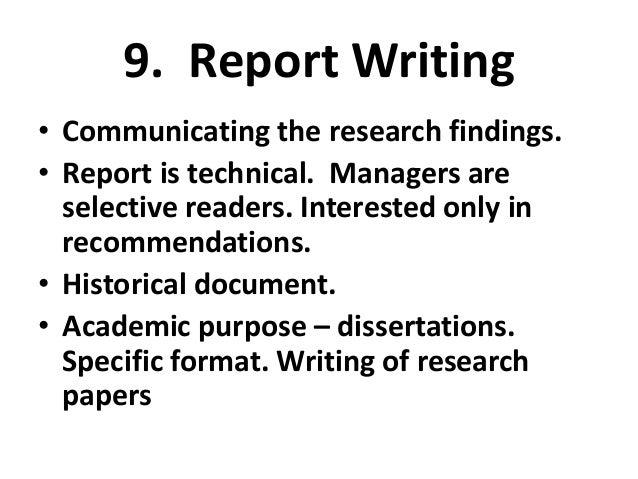 Purpose Of Dissertation