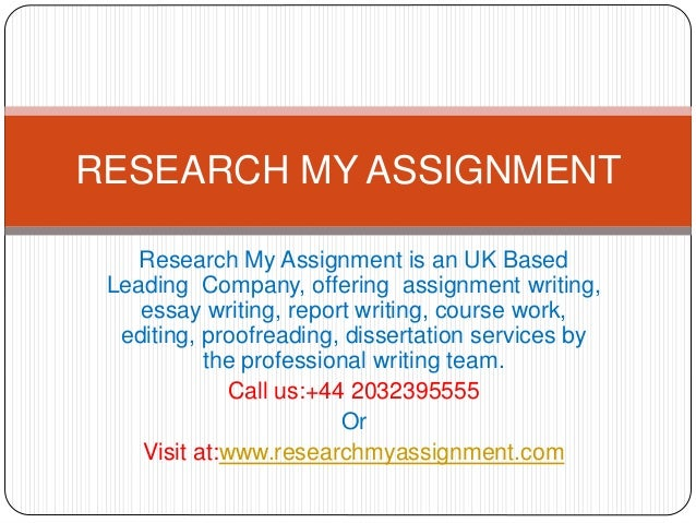Company for writing research uk