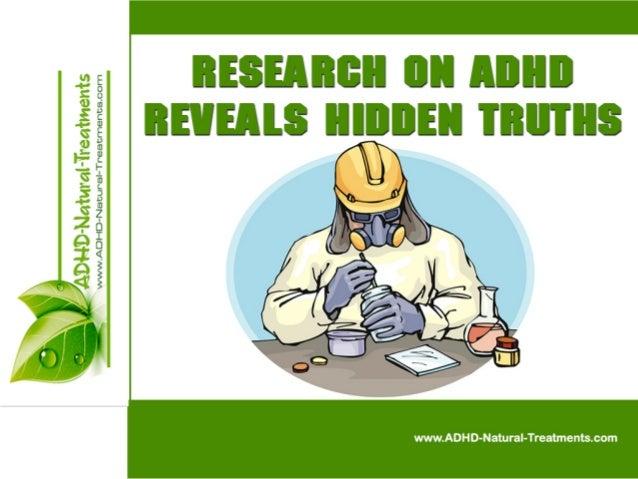 Research On ADHD Reveals Hidden Truths