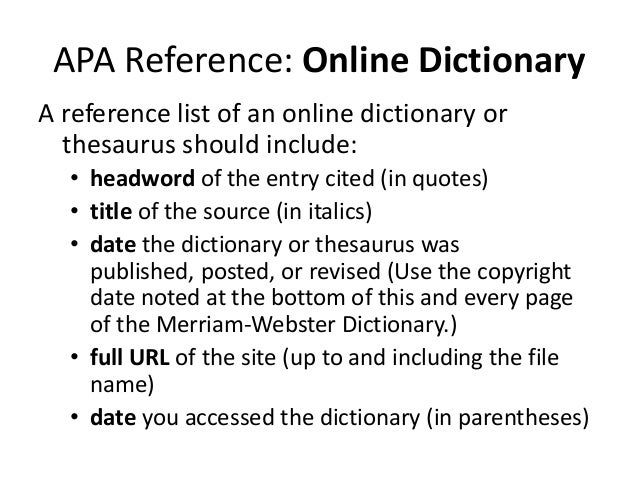 apa thesis formatting guidelines