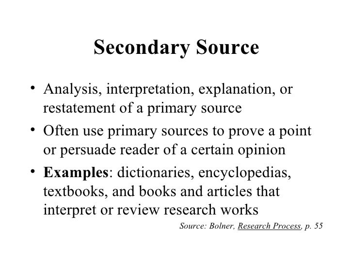 secondary source analysis essay Free secondary sources papers secondary analysis of qualitative data - this essay aims to examine the practice of secondary analysis on qualitative data.