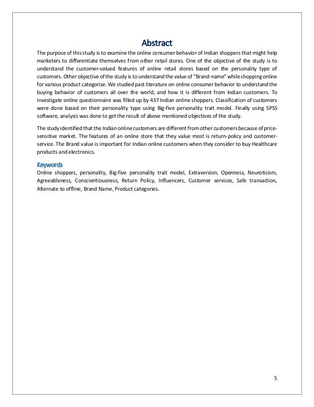 Marketing and Consumer Behavior Paper