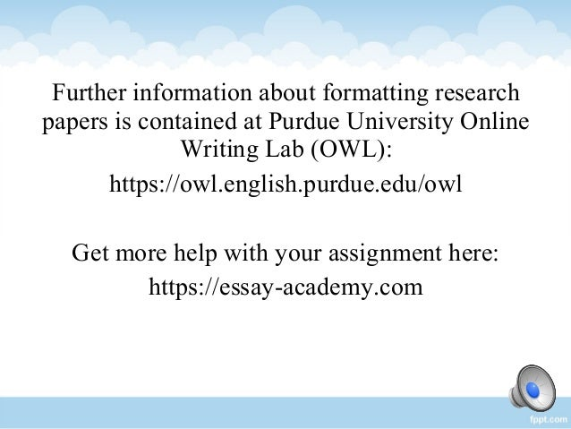 Tips for writing a research paper conclusion