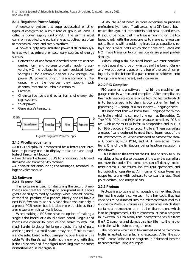 Gps term paper
