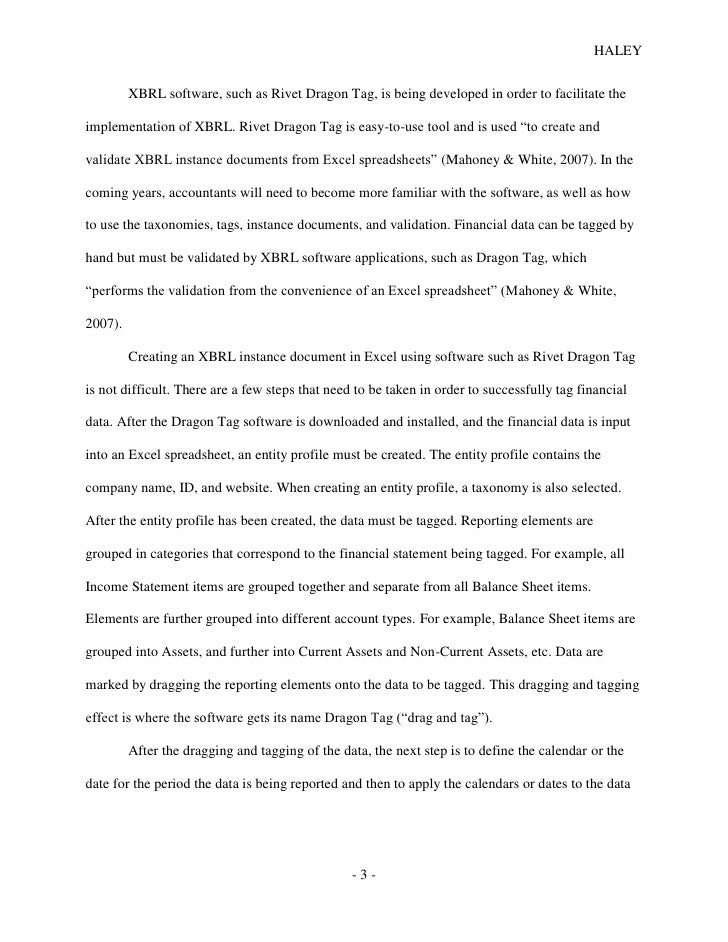 Research paper in accounting