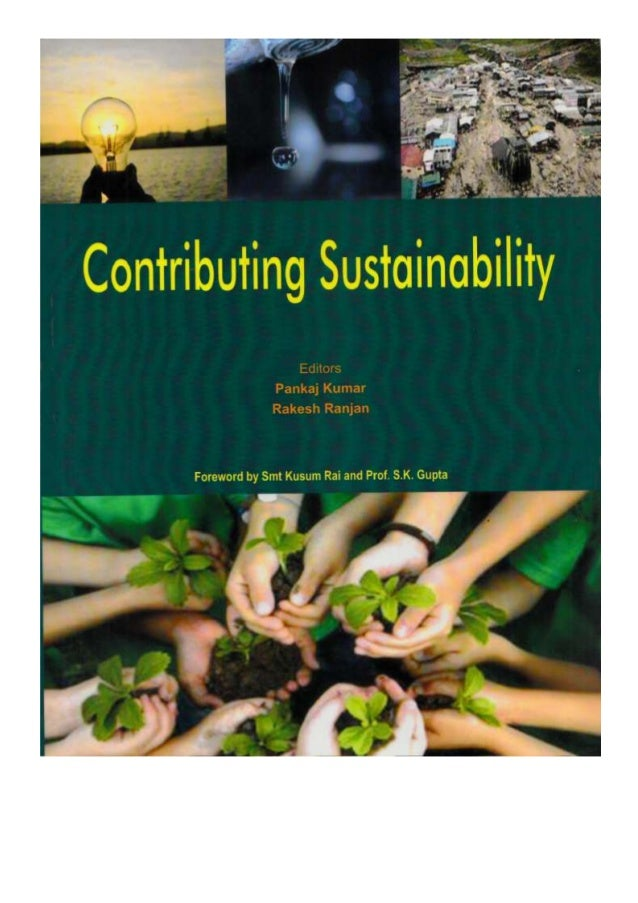Research paper of professor trilok kumar jain on relative economics published in edited book contributing sustainability