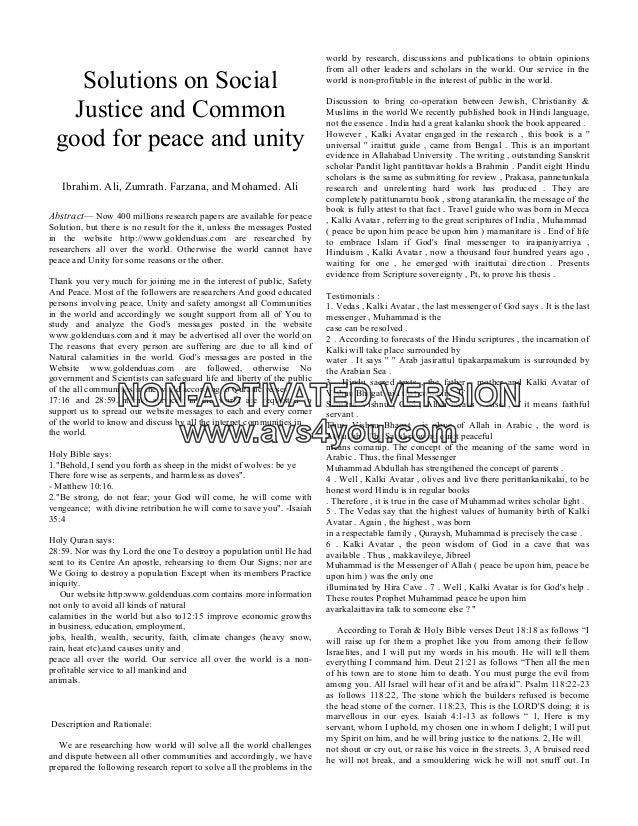 essay on peace through social service-1
