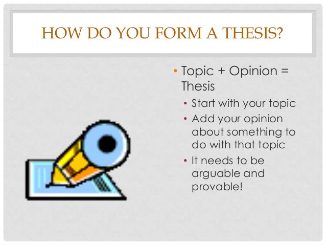 Ambition Research Paper Thesis