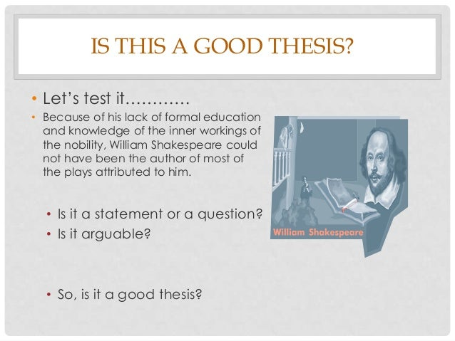 technologies thesis statements The thesis statement is a vital part of your speech and technology developing a thesis statement from your speech topic related study materials.