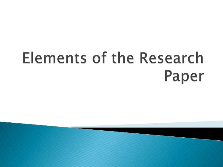 i search research papers To fully understand what information particular parts of the paper should discuss, here's another research paper example including some key parts of the paper.