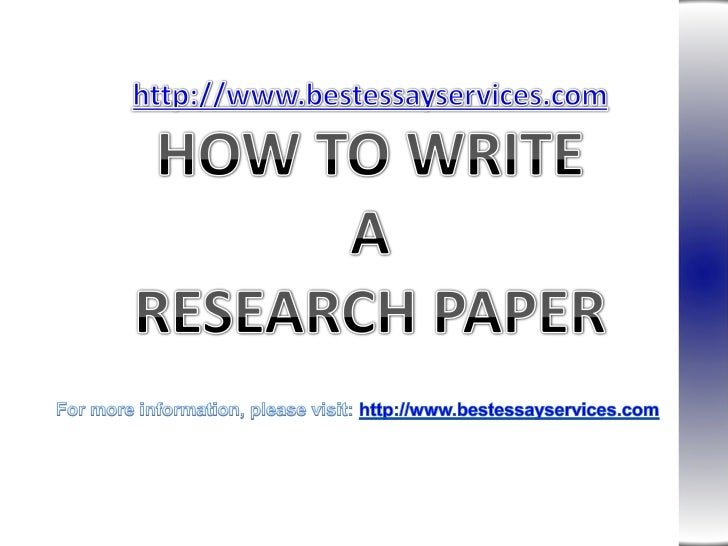 How to Writer Research papers, Academic Research Papers, Academic Writing