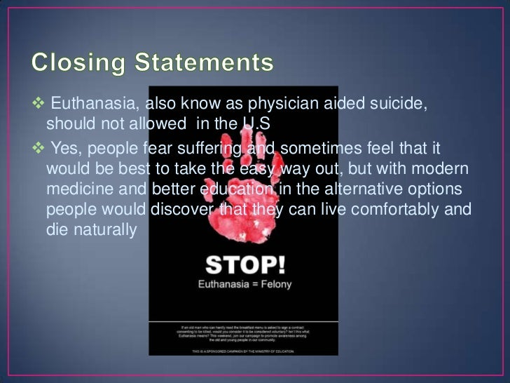 research papers on euthanasia Learn how to write an euthanasia research paper with essayshark look through our mini-guide and research paper example.