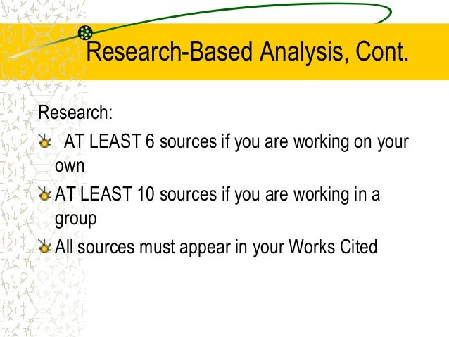 Structure of a research paper ppt