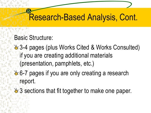 analysis of research essay