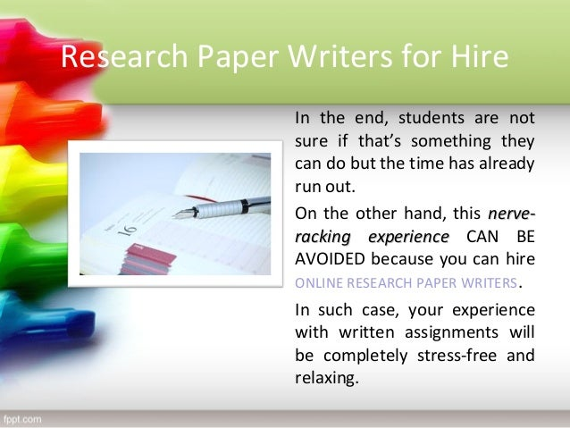 Term paper writers for hire