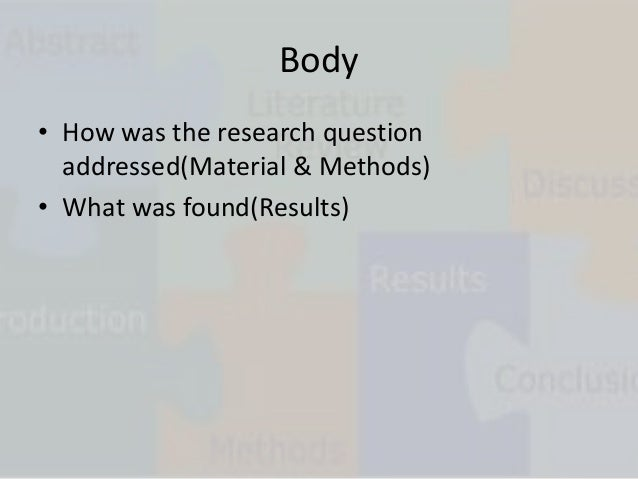 Animation qualities of good research report