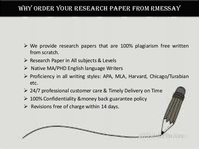 Research paper assistance service