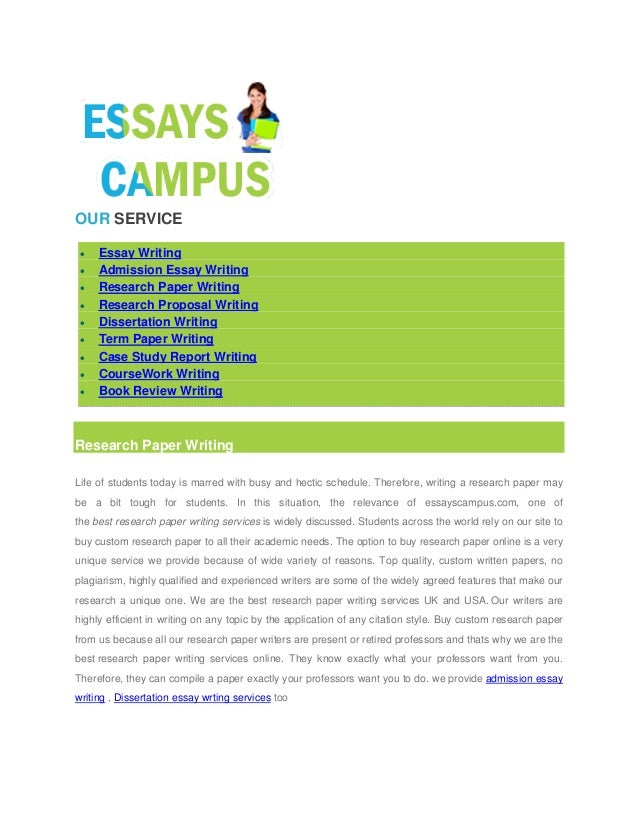 Custom essay research paper law