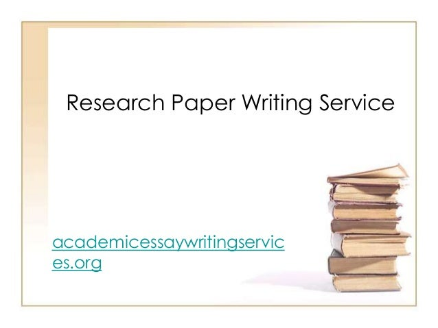 is the best research paper writing service