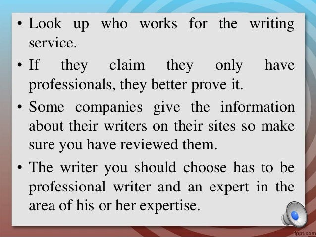 Term Papers - Pay for proofreading?