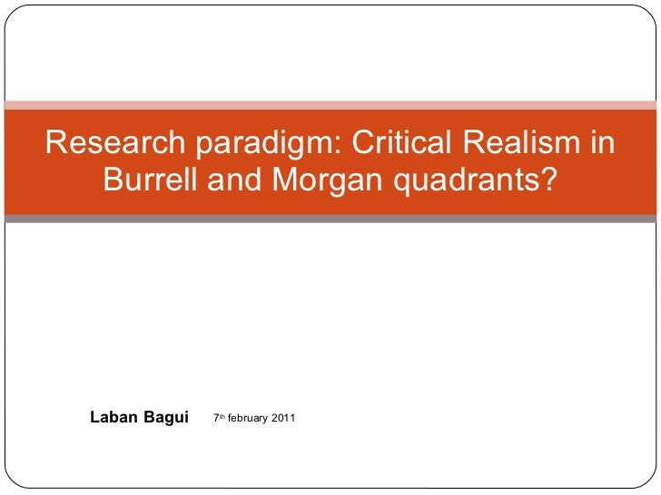 research paradigms in education
