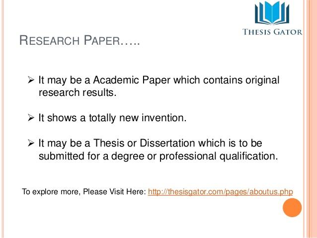 Custom Research Paper - Custom Writing Service